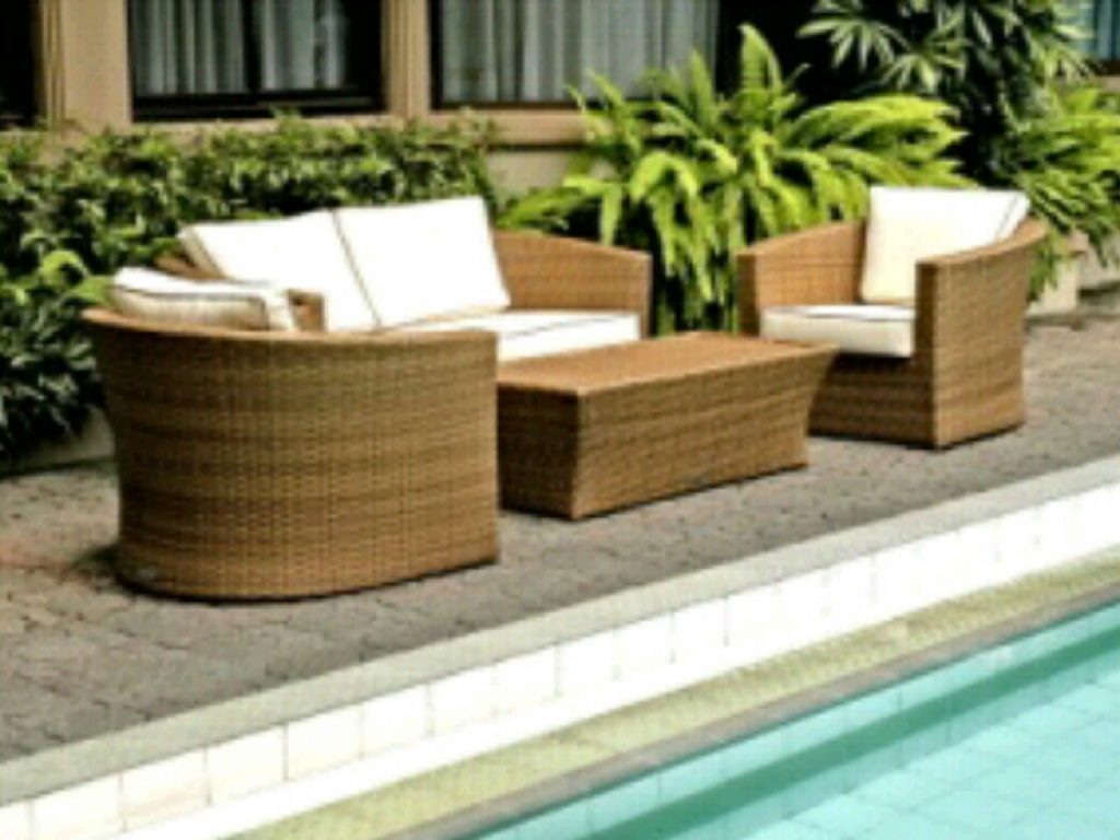 Manufacturer exporter and supplier of synthetic rattan for Outdoor furniture jakarta