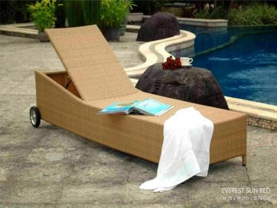 Outdoor Furniture - Patio Furniture and Garden Furniture Made of Synthetic Rattan Wicker