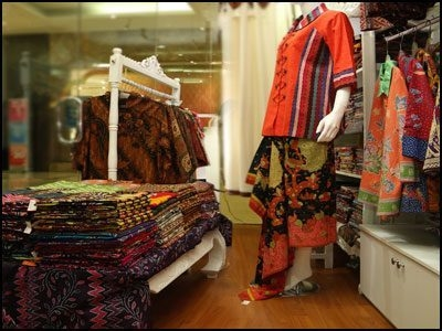 Batik Fabric And Garment