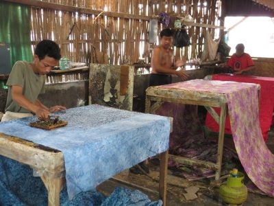 Hand Dyed Batik Cotton Fabric Manufacturer From Solo